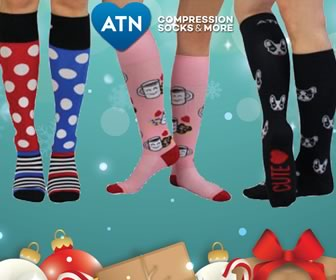 You could win a ATN Compression Socks!