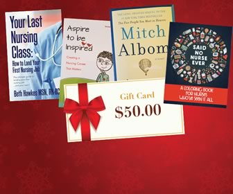 You could win Nursing Books + $50 Gift Card!