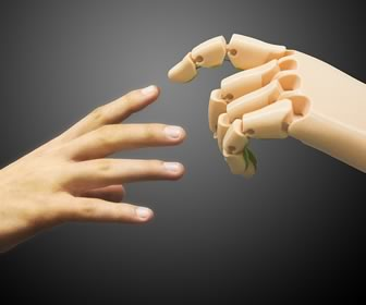 Holding Hands with AI (Artificial Intelligence)