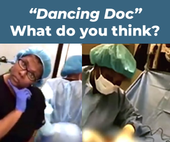 """Dancing Doc"" Video....Just When You Think You've Seen It All..."