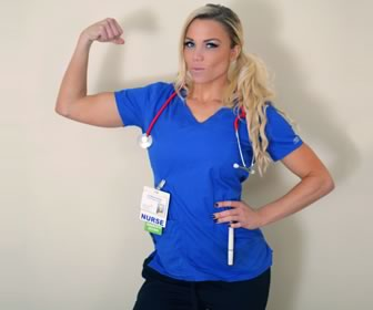 From night shift nursing to Fitness Model