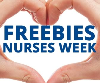 Nurses Week 2018 FREEBIES, PRIZES & DISCOUNTS