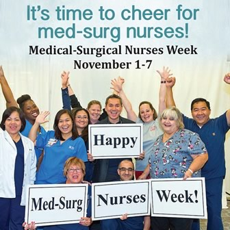 Medical-Surgical Nurses Week 2017