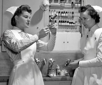 Wearing A Nursing Cap - Not These Days