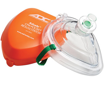 Adsafe™ CPR Pocket Resuscitator