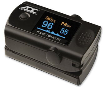 Diagnostix™ 2100 Fingertip Pulse Oximeter by ADC