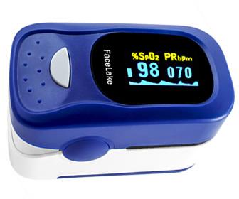 FaceLake FL-100 Fingertip Pulse Oximeter-Blood Oxygen Monitor