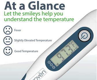 iProven Oral and Rectal Digital Thermometer DTR-1221