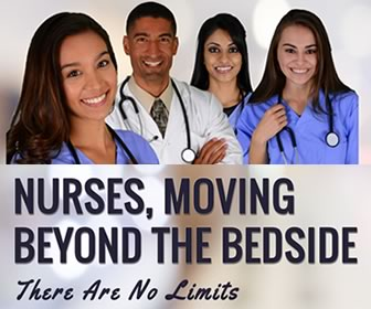 Nurses, Moving Beyond the Bedside: There Are No Limits